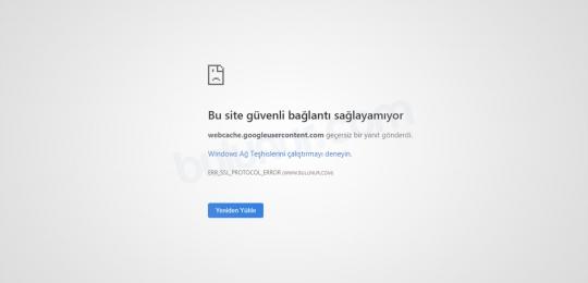 Chrome'da 'ERR_SSL_PROTOCOL_ERROR' Nasıl Onarılır?